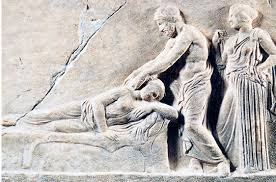 Grèce ancienne  Massage
