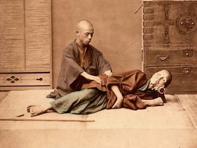 Masaje Shiatsu