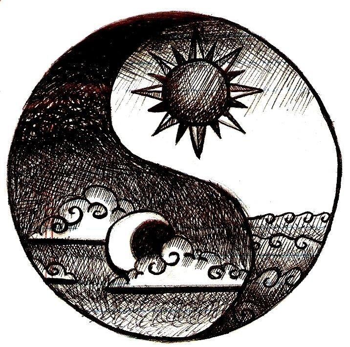 Ying-Yang, Sun-Moon